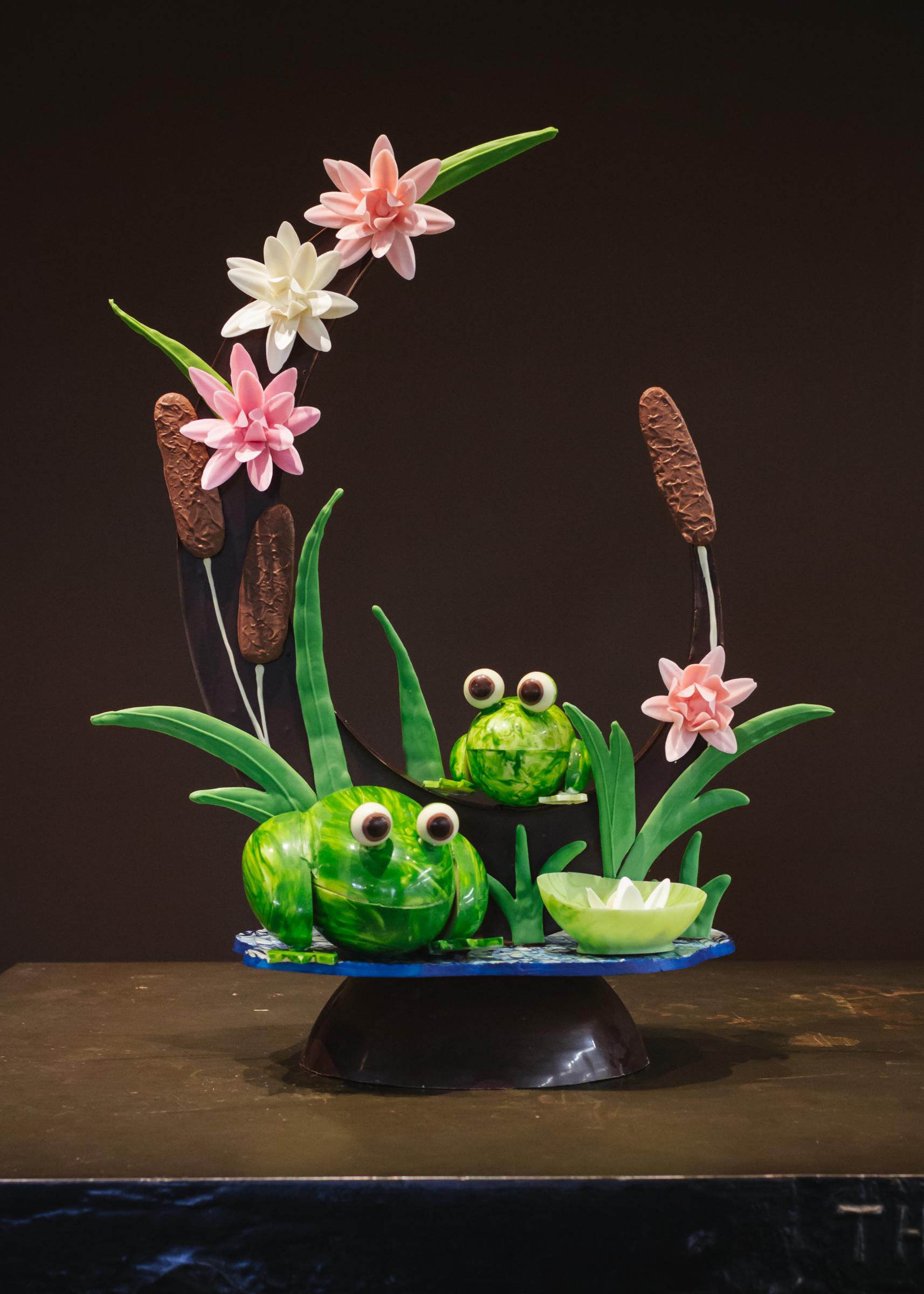 2018 Spring Chocolate Sculpture