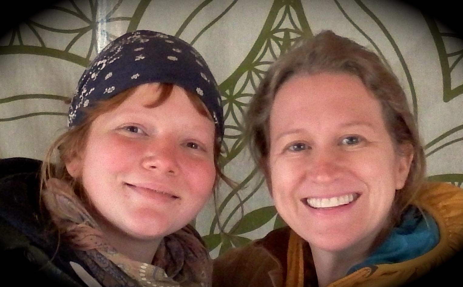Zoe York and Hayley Joyell SMith