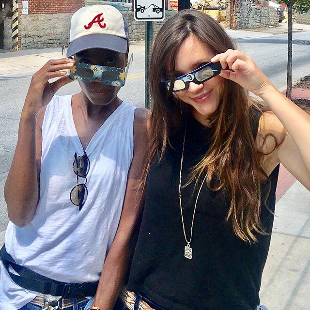 Eclipse burnouts! @styledbykekesamberstein @theltwo @dunda_b #solareclipse2017 #nasanerds #ATL #tech #scouting #eyeburn #production #ltwoproductions