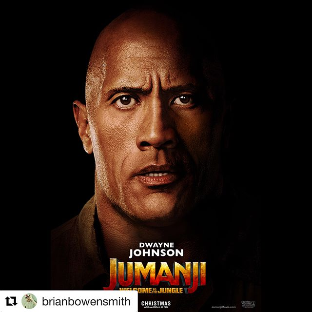 Had the pleasure of producing this movie poster for @brianbowensmith with this amazing cast.  Excited to see it come to life this Christmas!#jumanjiingeorgia #production #dwaynejohnson #kevinhart #jackblack #nickjonas #karengillan #ltwoproductions