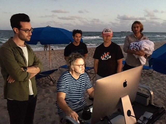 That beach / work balance.  #production #inthezone #print #advertising #onlocation #weregonnaneedalongerstinger