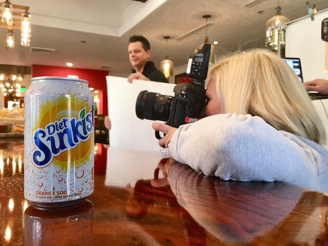 Another shoot, another #dietsunkist for @katetparker.  Please @drpepper sponsor our productions because we're running out of $$ trying to keep up with Kate's habit!! 💪🏻🍊😂#sunkististhenewpretty  #production #printadvertising #onlocation #katetparker #dietsunkistloversanonymous #icanquitwheneveriwant #idonthaveaproblemyouhaveaproblem #strongisthenewpretty #ltwoproductions