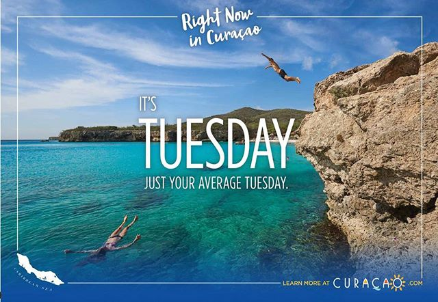 New work Wednesday.  @troy_house for @curacaotb @catchnewyork.  Could use some of that right now.  #print #advertising #curacao #tourism #ltwoproductions #getsome