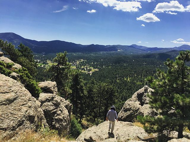 them hills be rolling #homesweethome #evergreen #hiking #landscape #colorado #summerdays