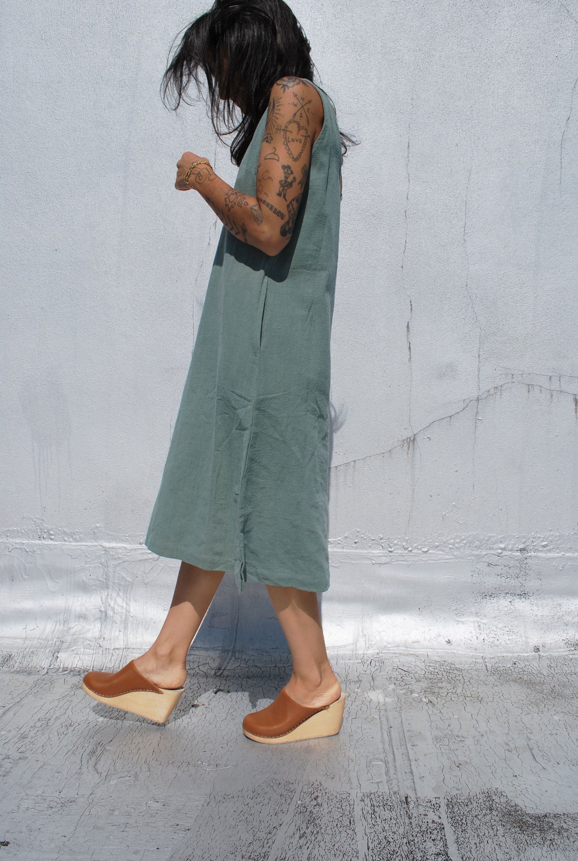 Maxi Dress in Seafoam