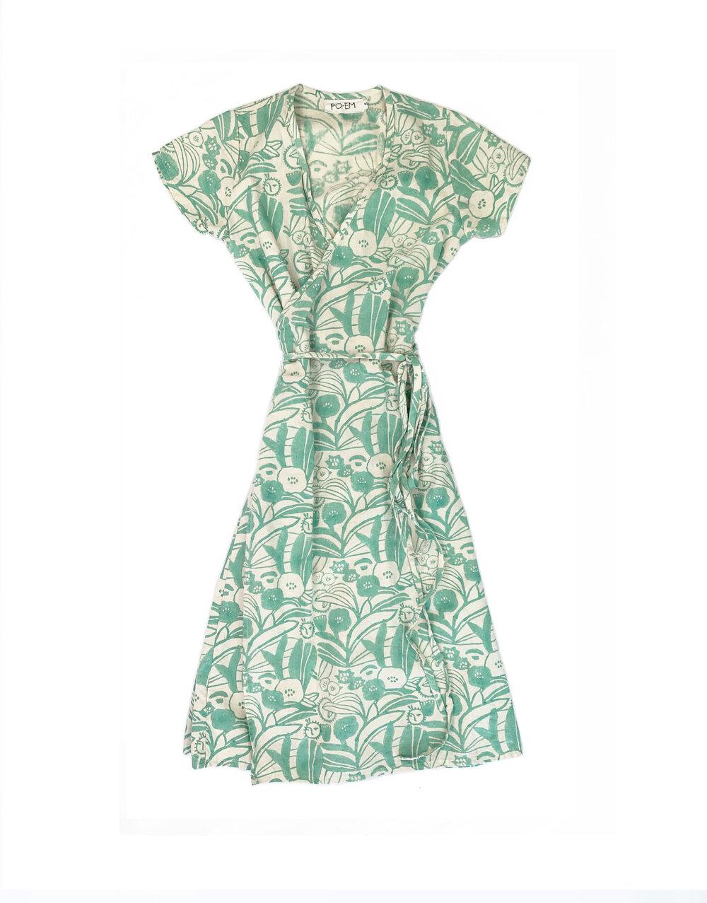 Ode Dress in Camo