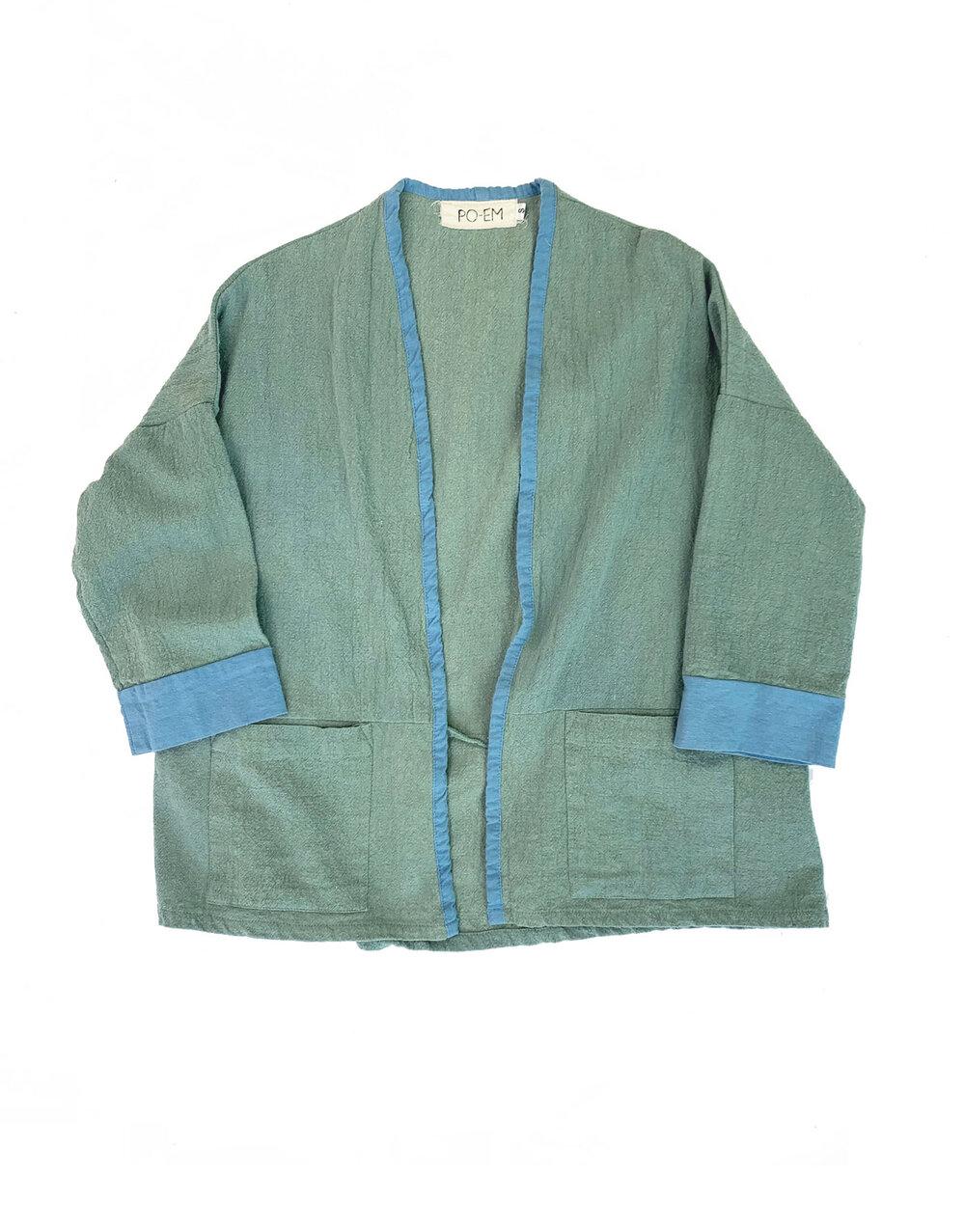 Spring Jacket Seafoam Indigo
