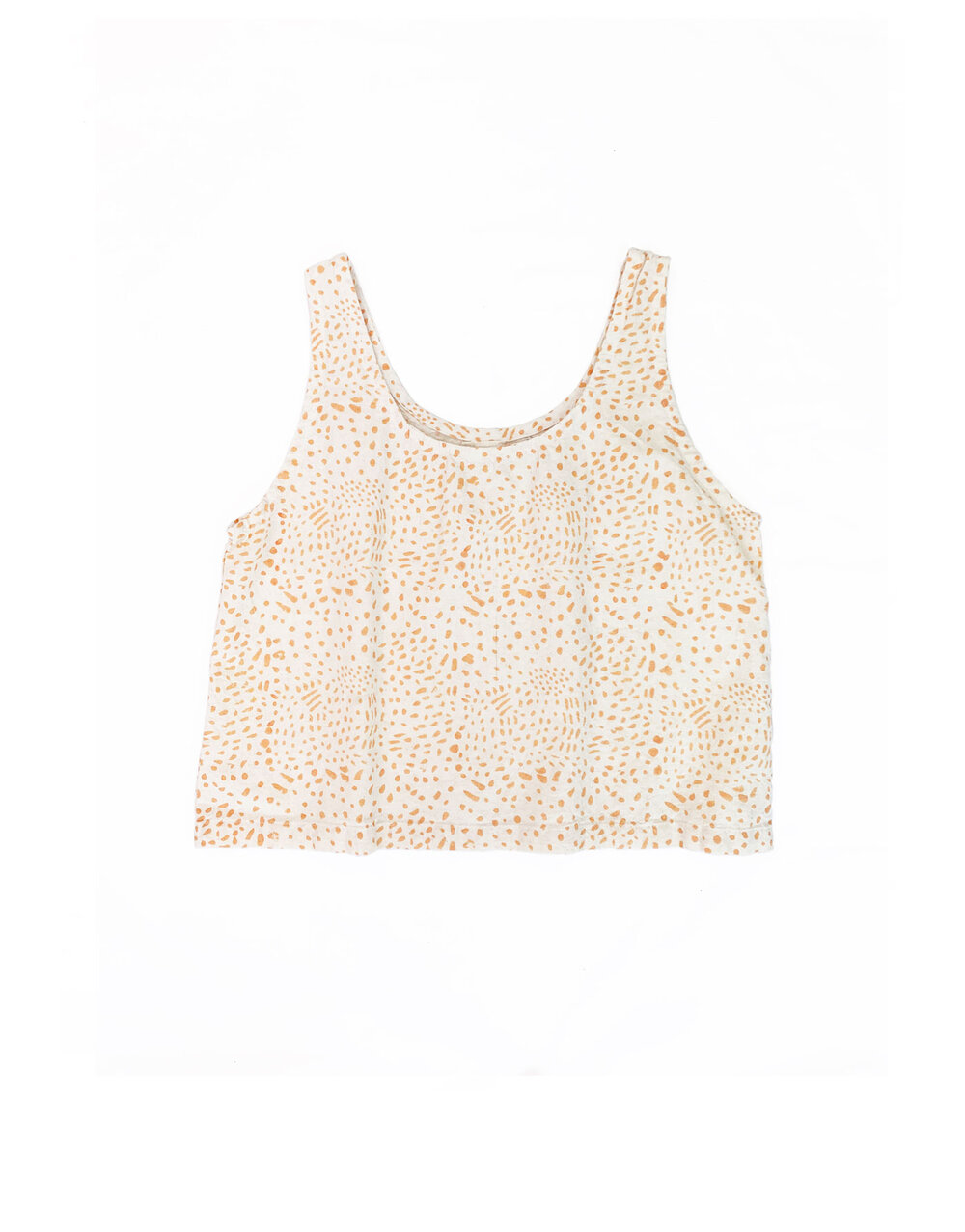 Tank Top in Painted Coral