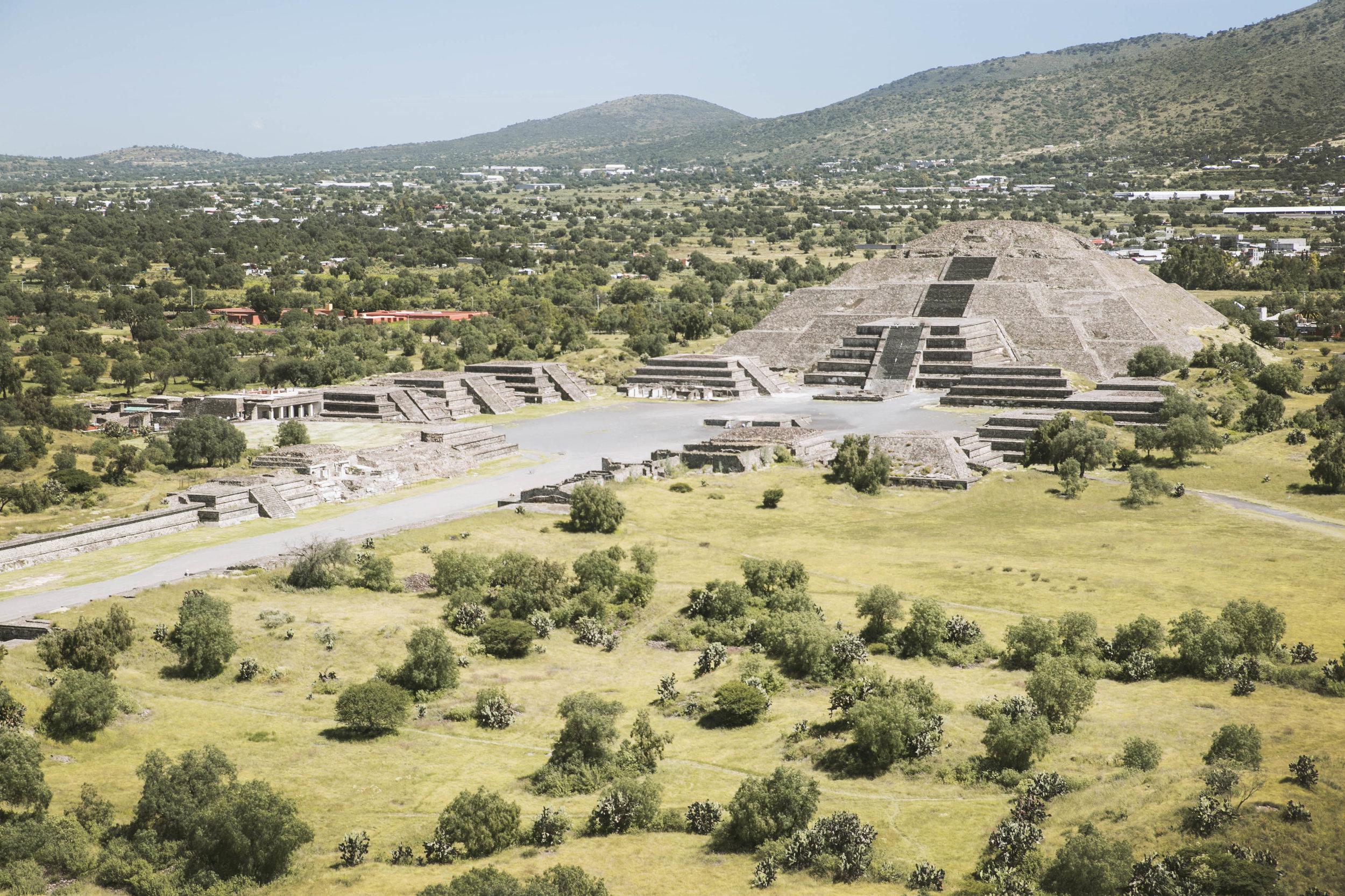 Teotihuacan Piramids.
