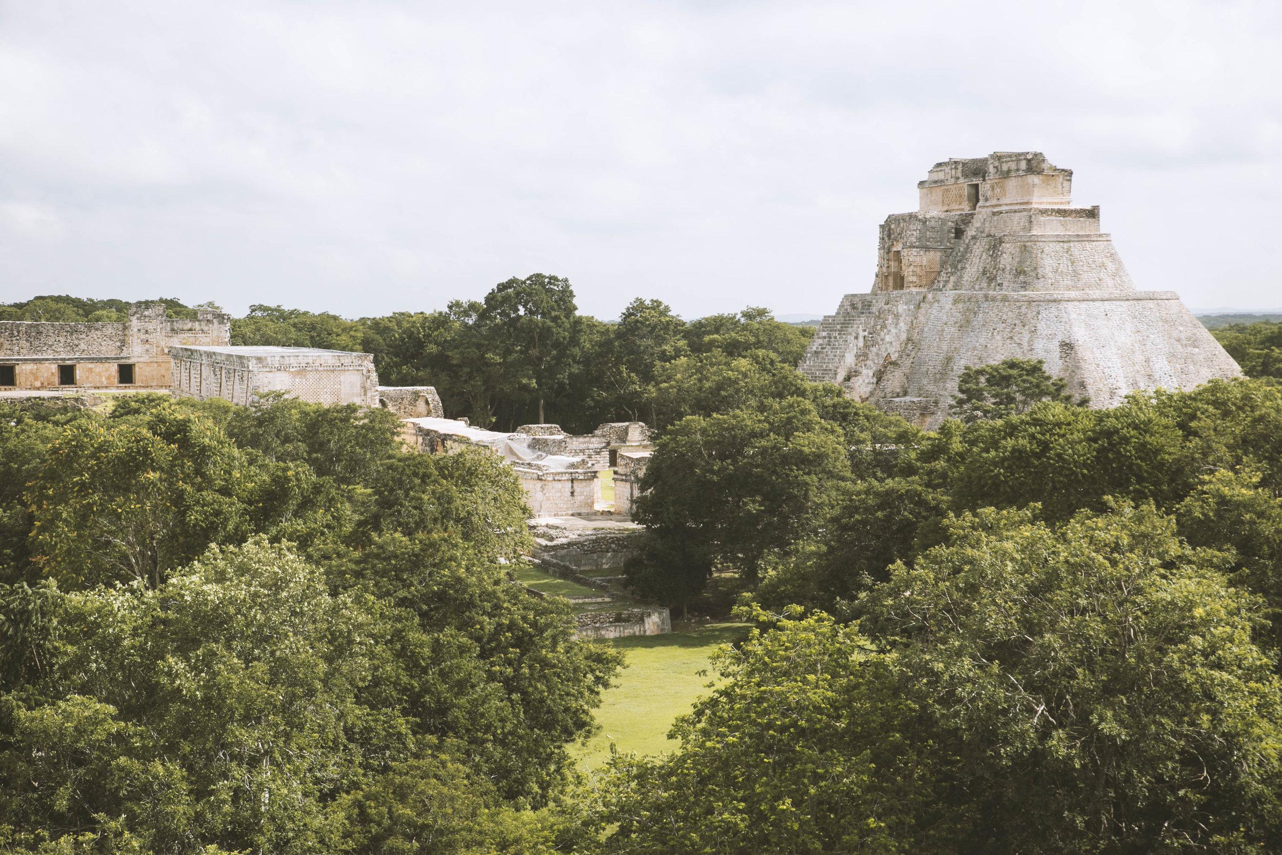 Uxmal Archeological Site, Yucatán.