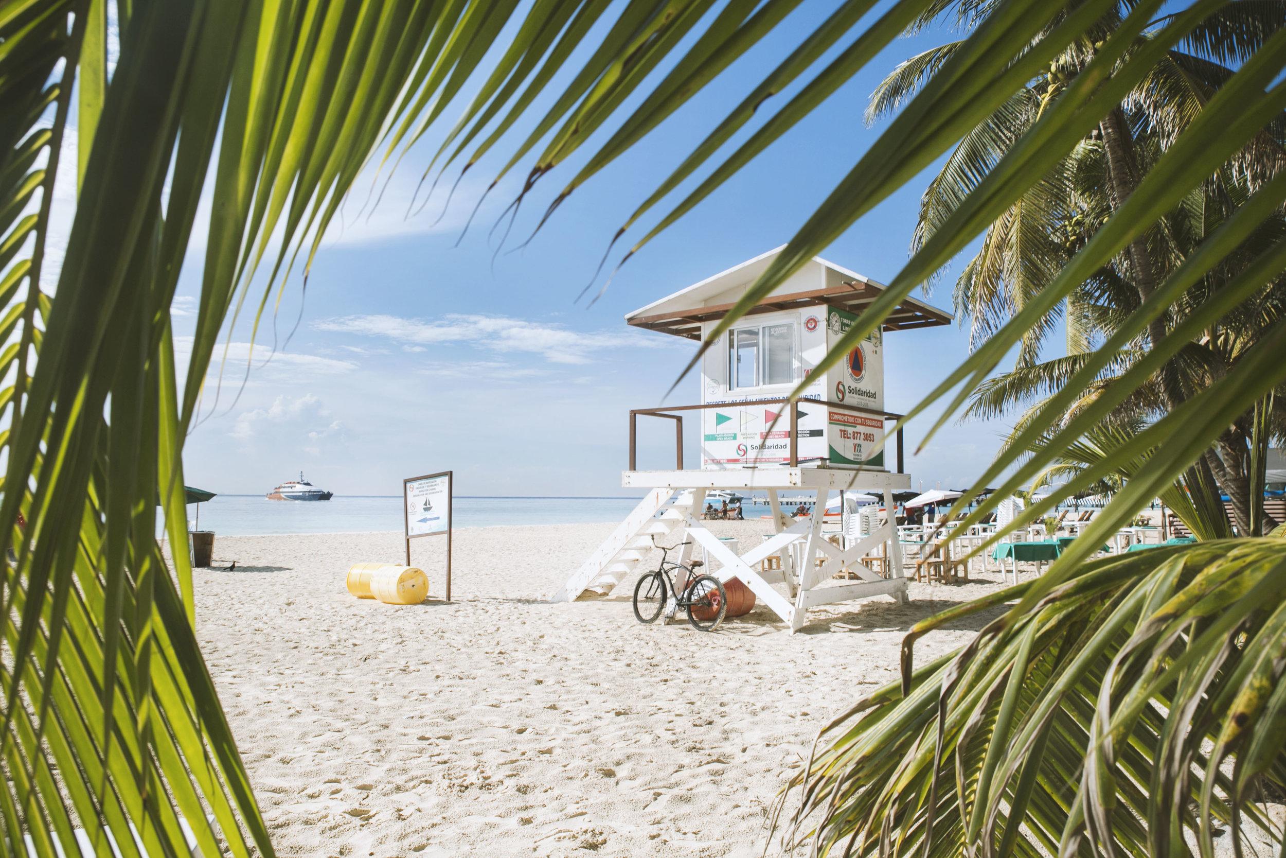 Playa del Carmen, Yucatán.
