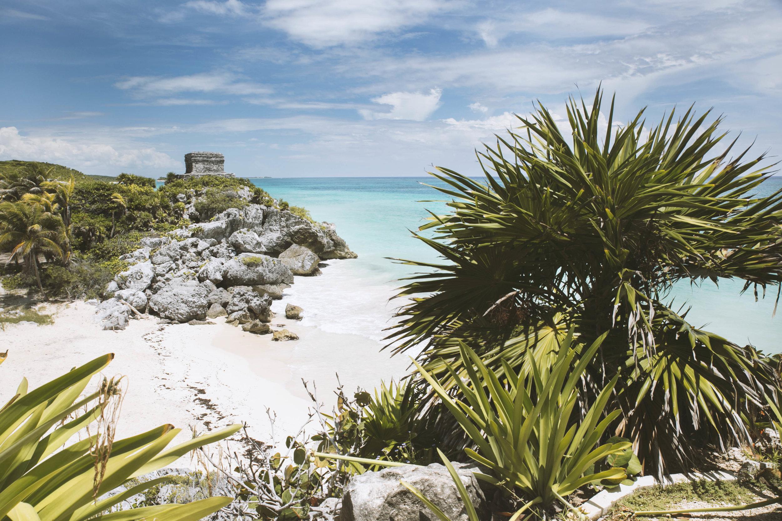 Tulum Ruins, Yucatán.