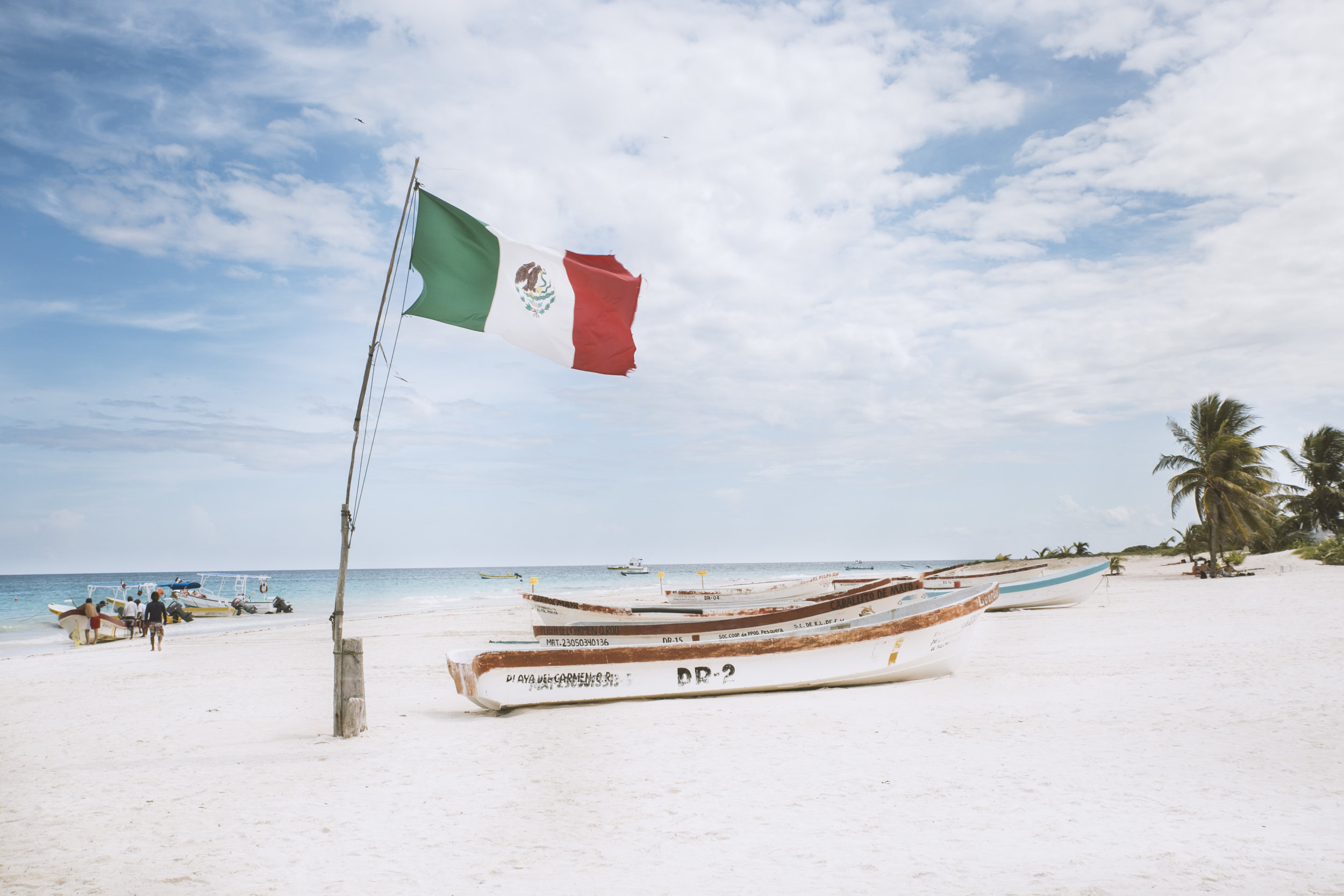 Tulum beach, Yucatán.