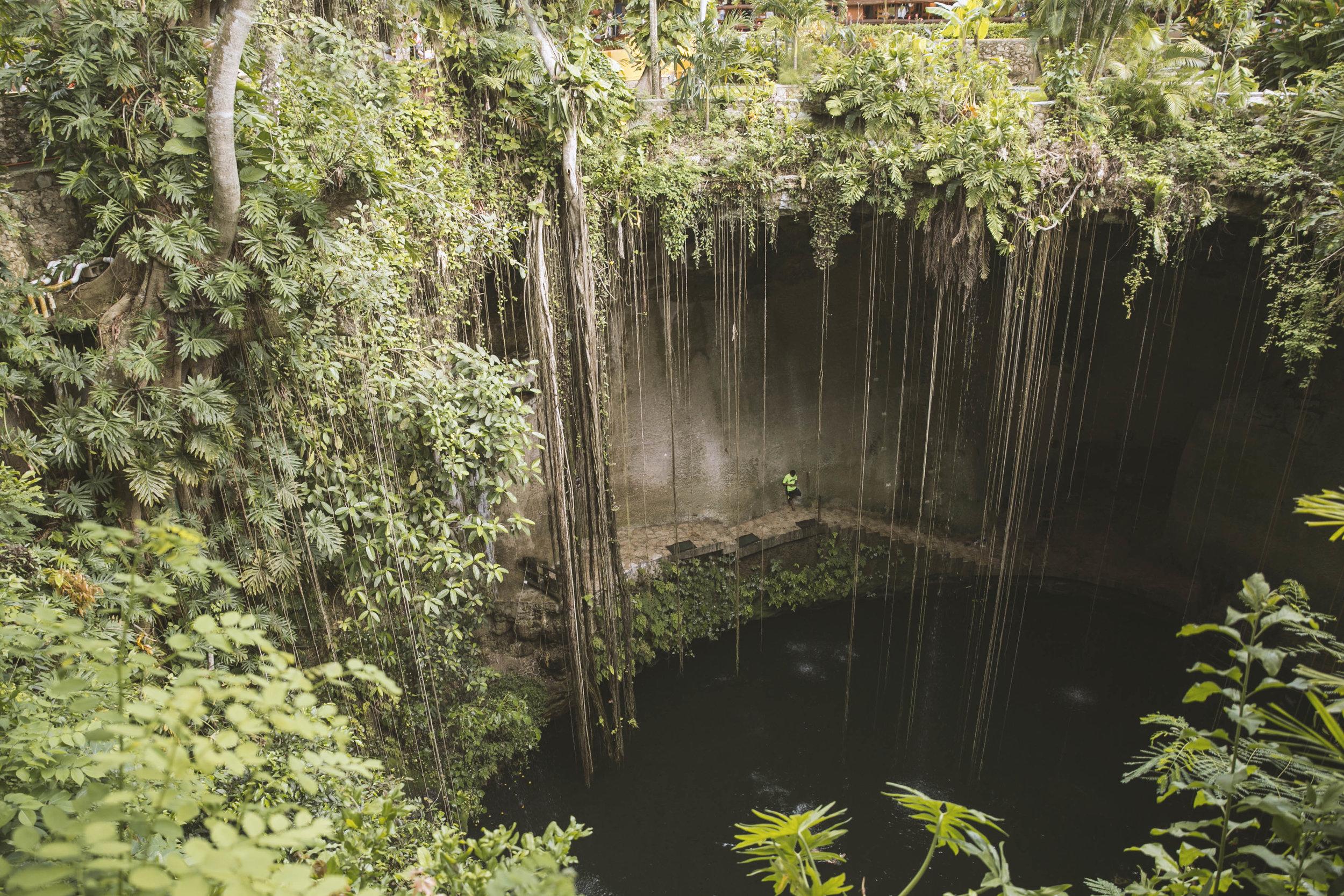Ik Kil Cenote, Yucatán.