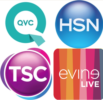 QVC, HSN, Evine Live, and The Shopping Channel are the four largest television shopping networks in North America.