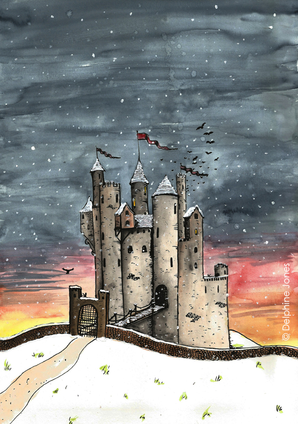Eliza's Book of Whimsy - 'The Castle'