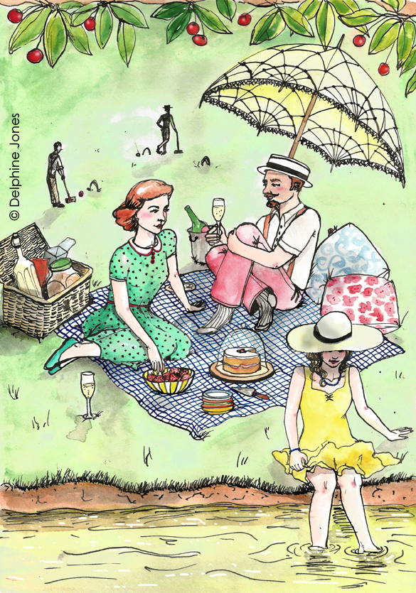 Eliza's Book of Whimsy - 'The Picnic'