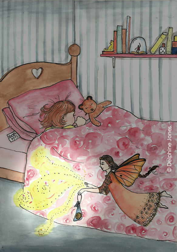 Eliza's Book of Whimsy - 'The Tooth Fairy'
