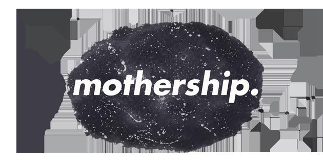 The Mothership logo design