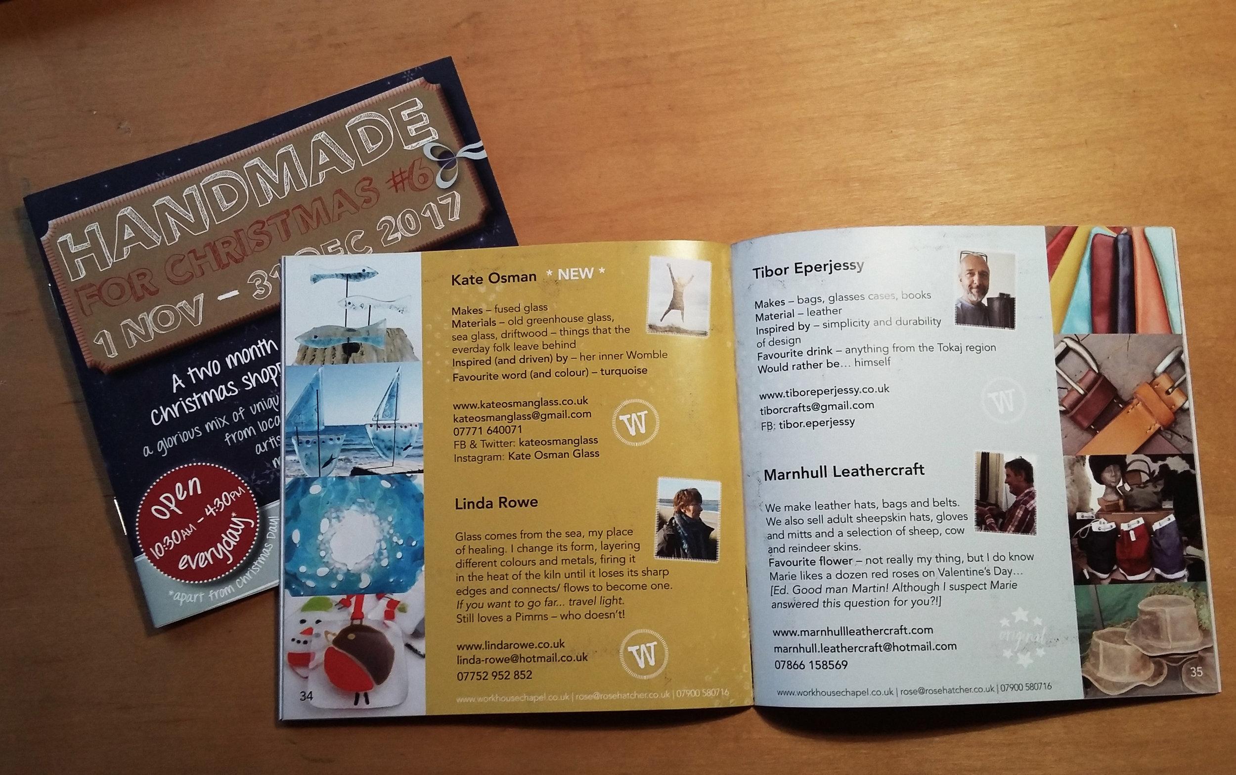 Handmade for Christmas directory