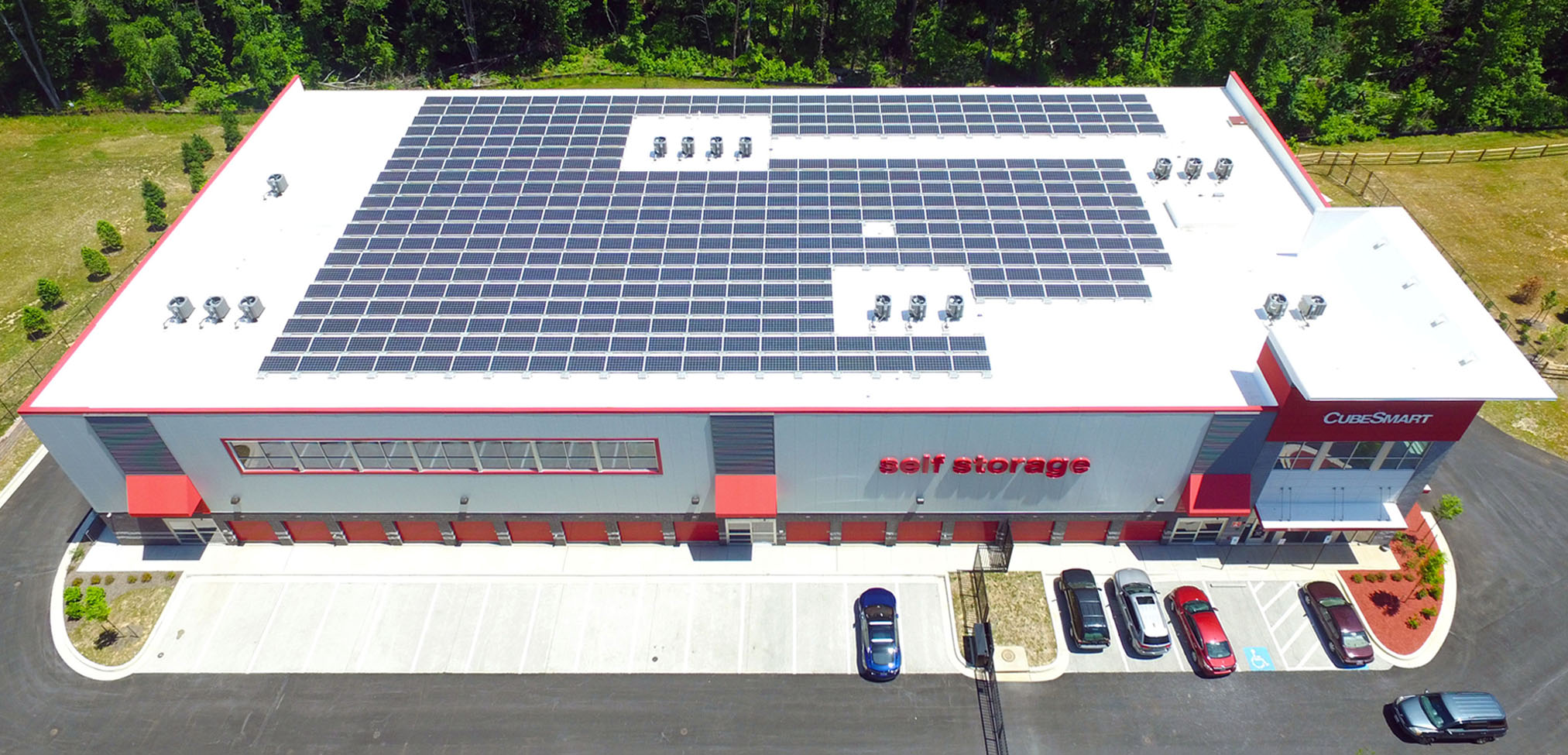 Arcland's first rooftop solar array