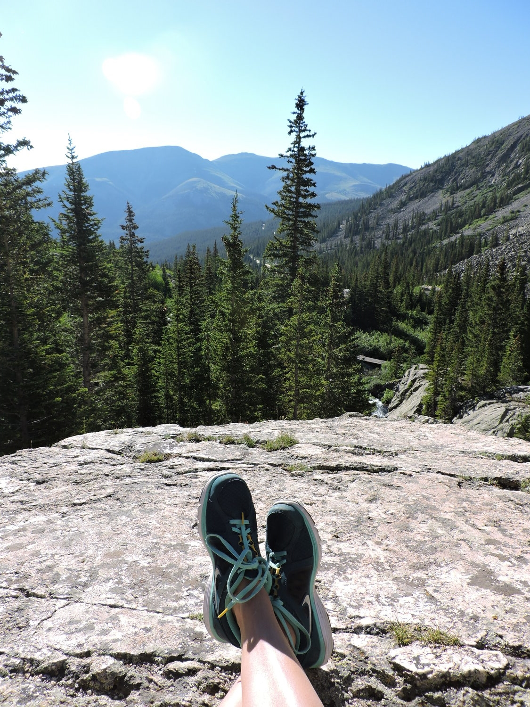 Hiking in Breckenridge, CO
