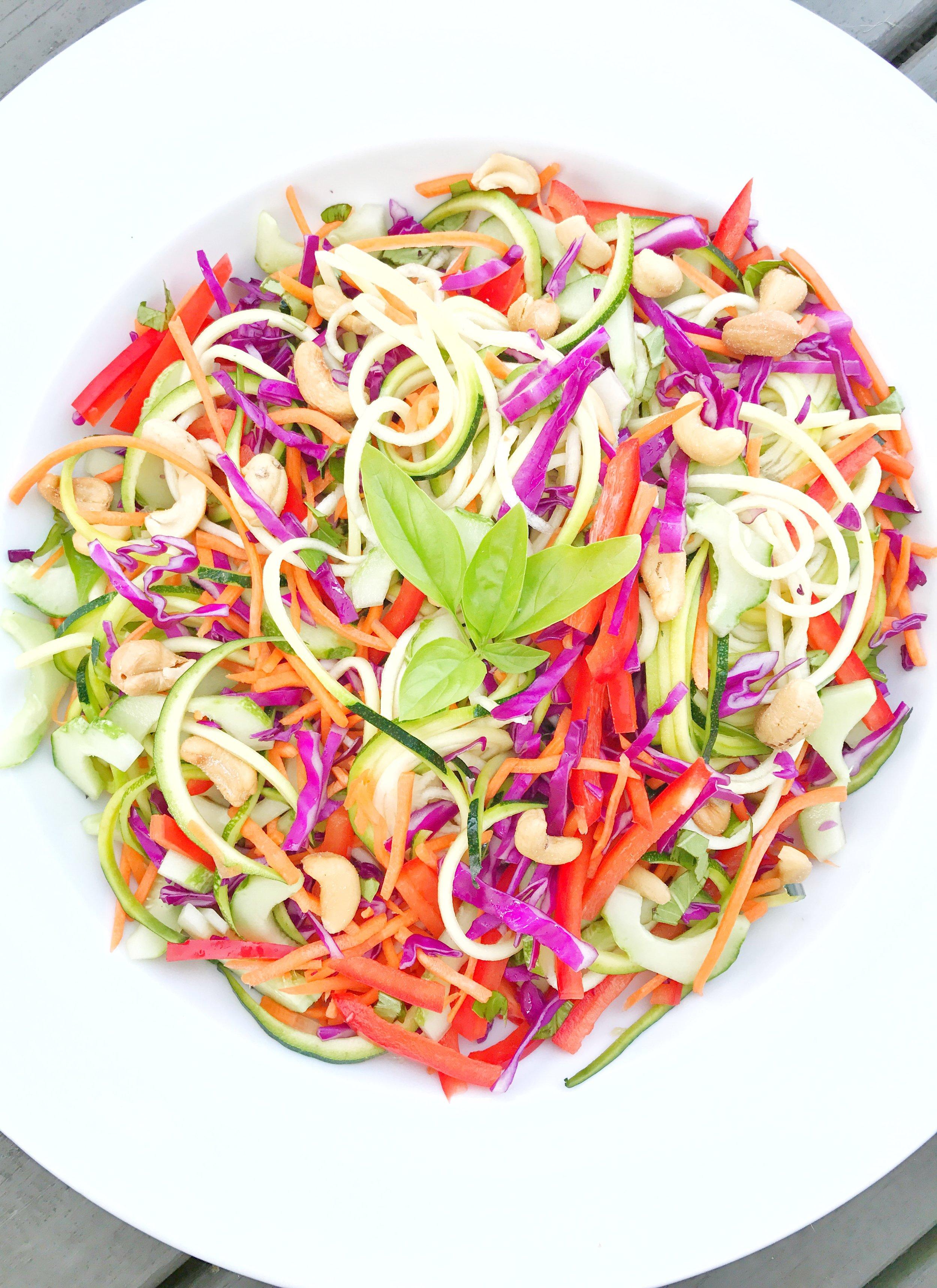 Asian Zoodle Salad