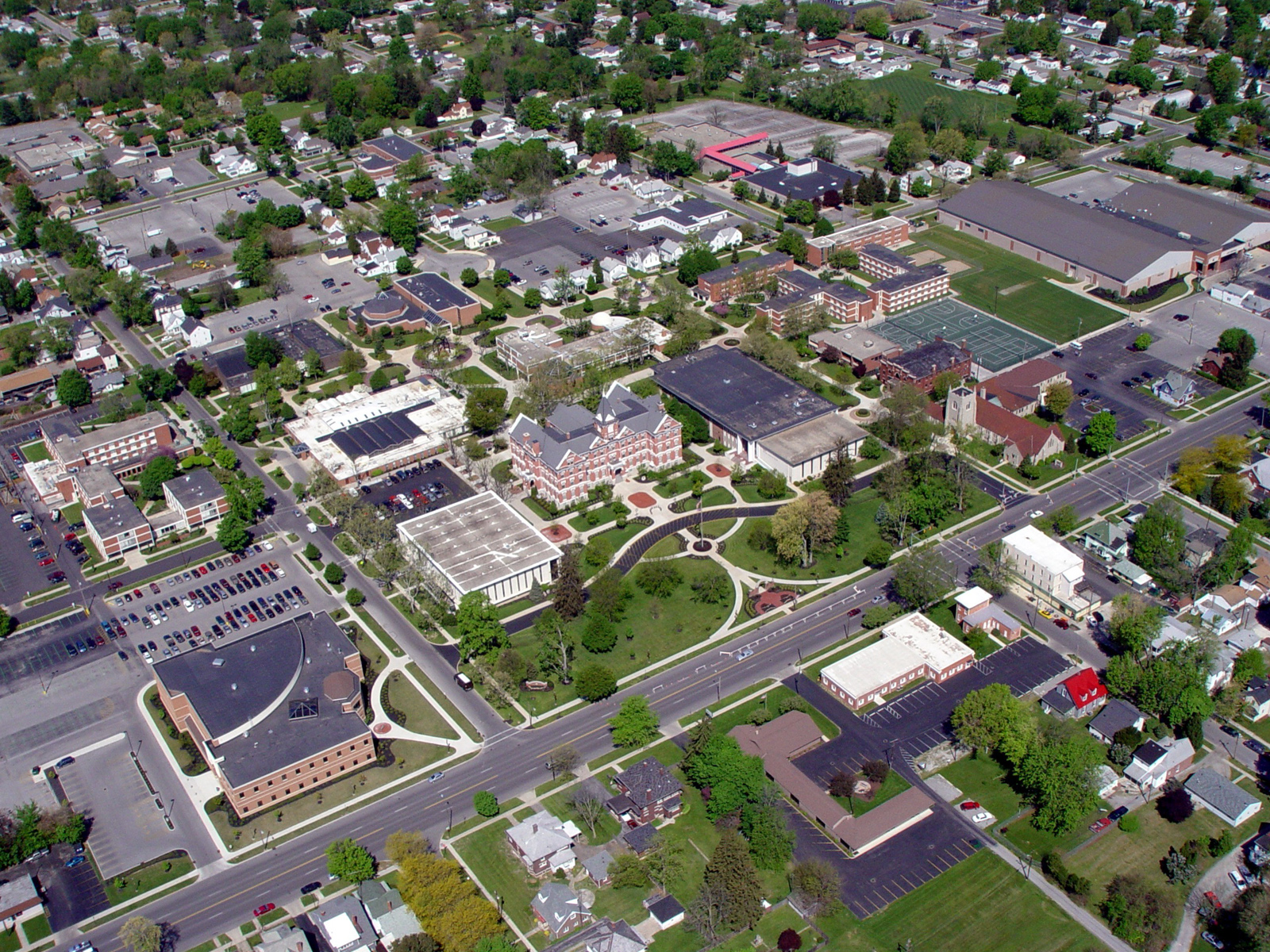 www.rcmarchitects.com - university of findlay : campus master plan (1)