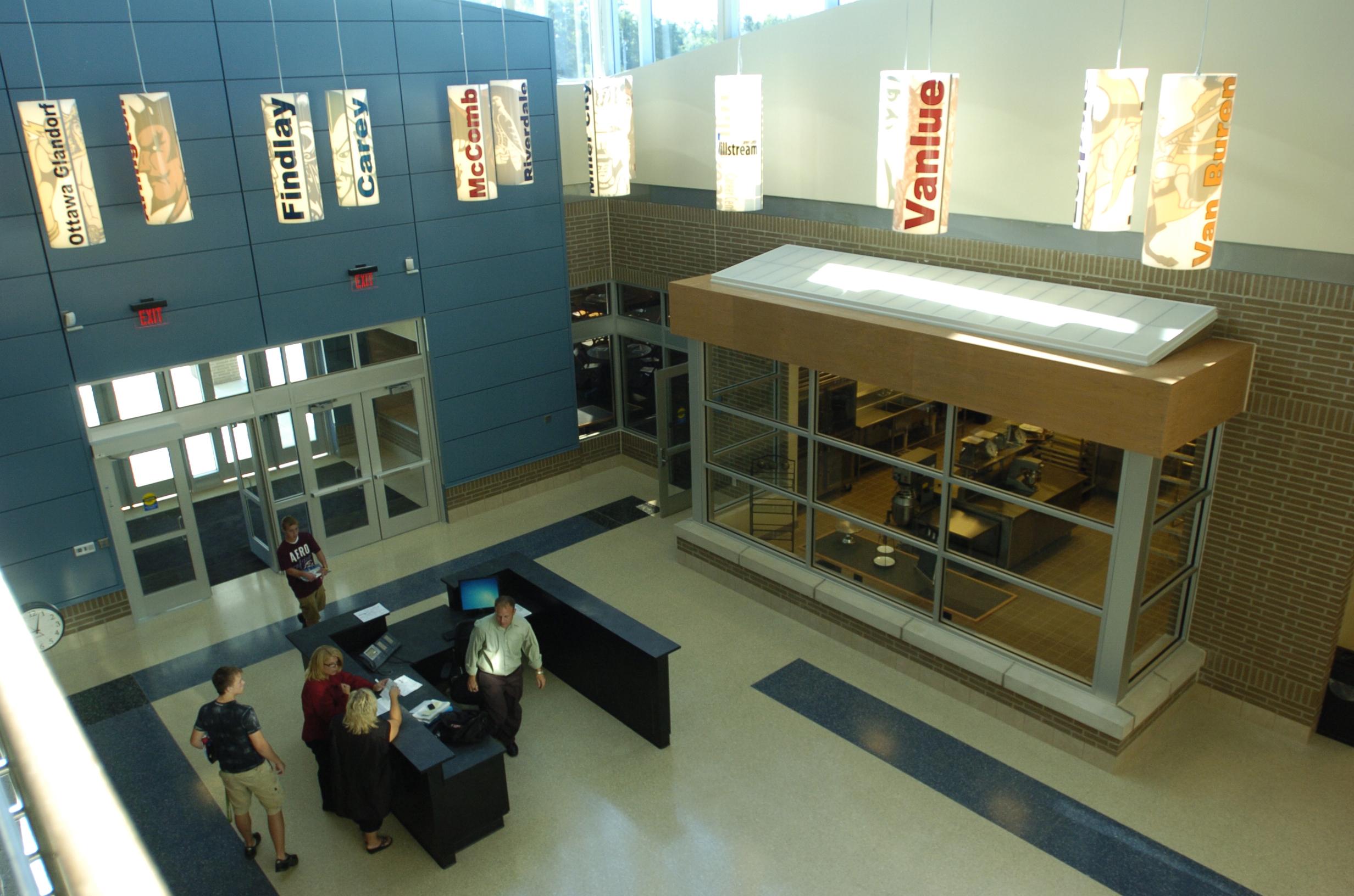 www.rcmarchitects.com - findlay city schools: millstream career center (5)
