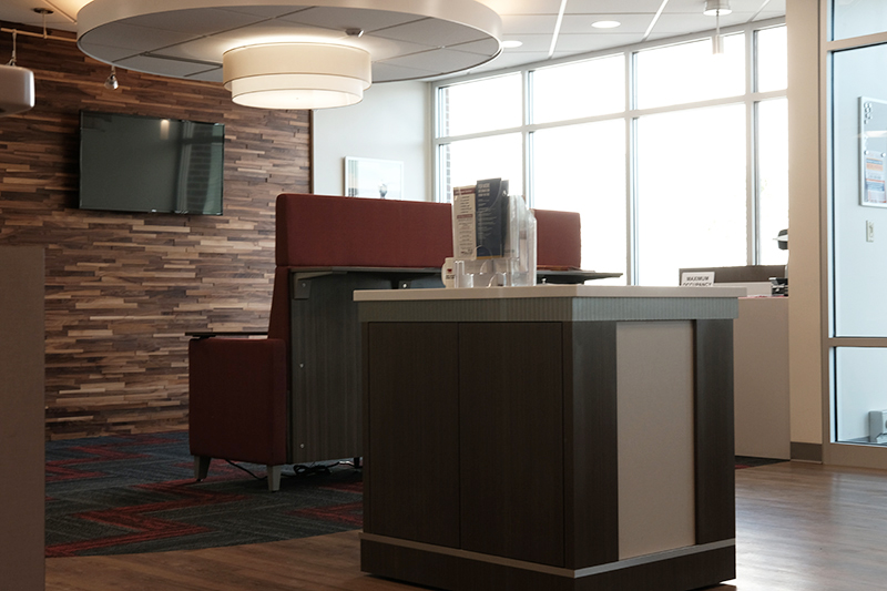 www.rcmarchitects.com First Citizens National Bank Carey Ohio Interior 1