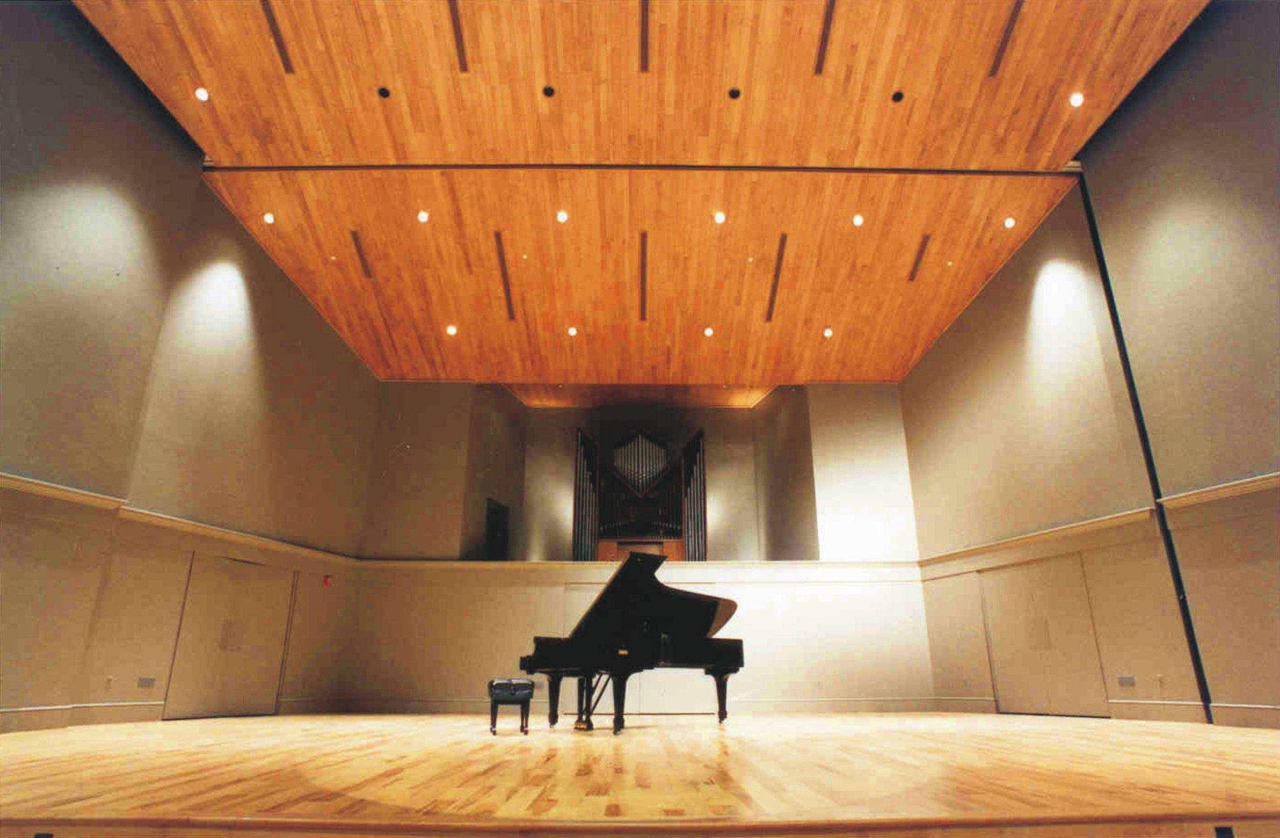 Yoder Recital Hall, Bluffton University