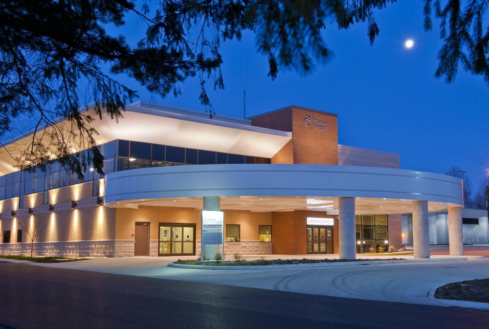 Emergency Wing, Bluffton Hospital, Blanchard Valley Health System, Bluffton
