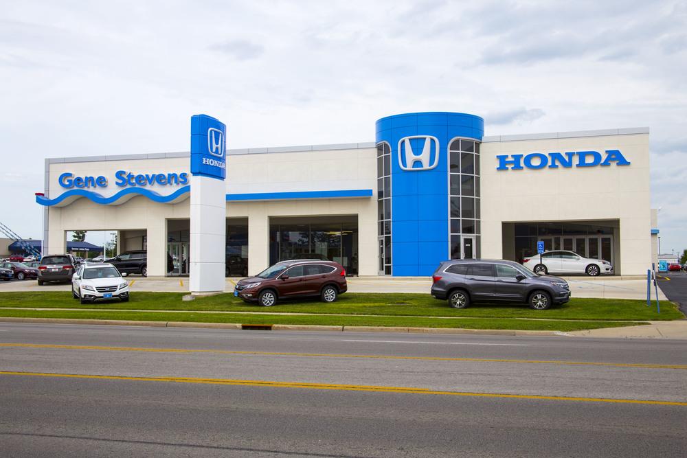 Gene Stevens Honda (now Reineke Honda) - Honda Corporation Renovations, Findlay