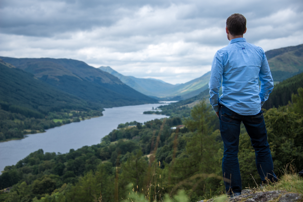 The Stillness of the Scottish Countryside