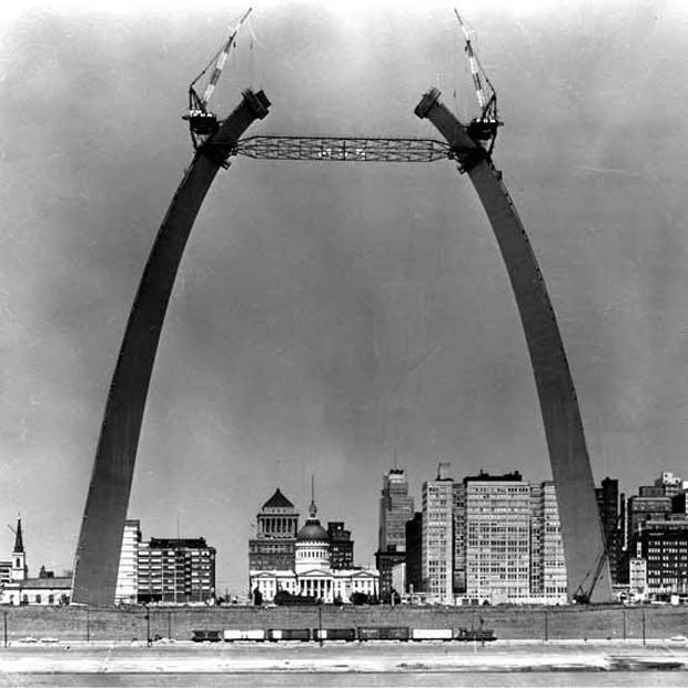 St. Louis Arch, 1963