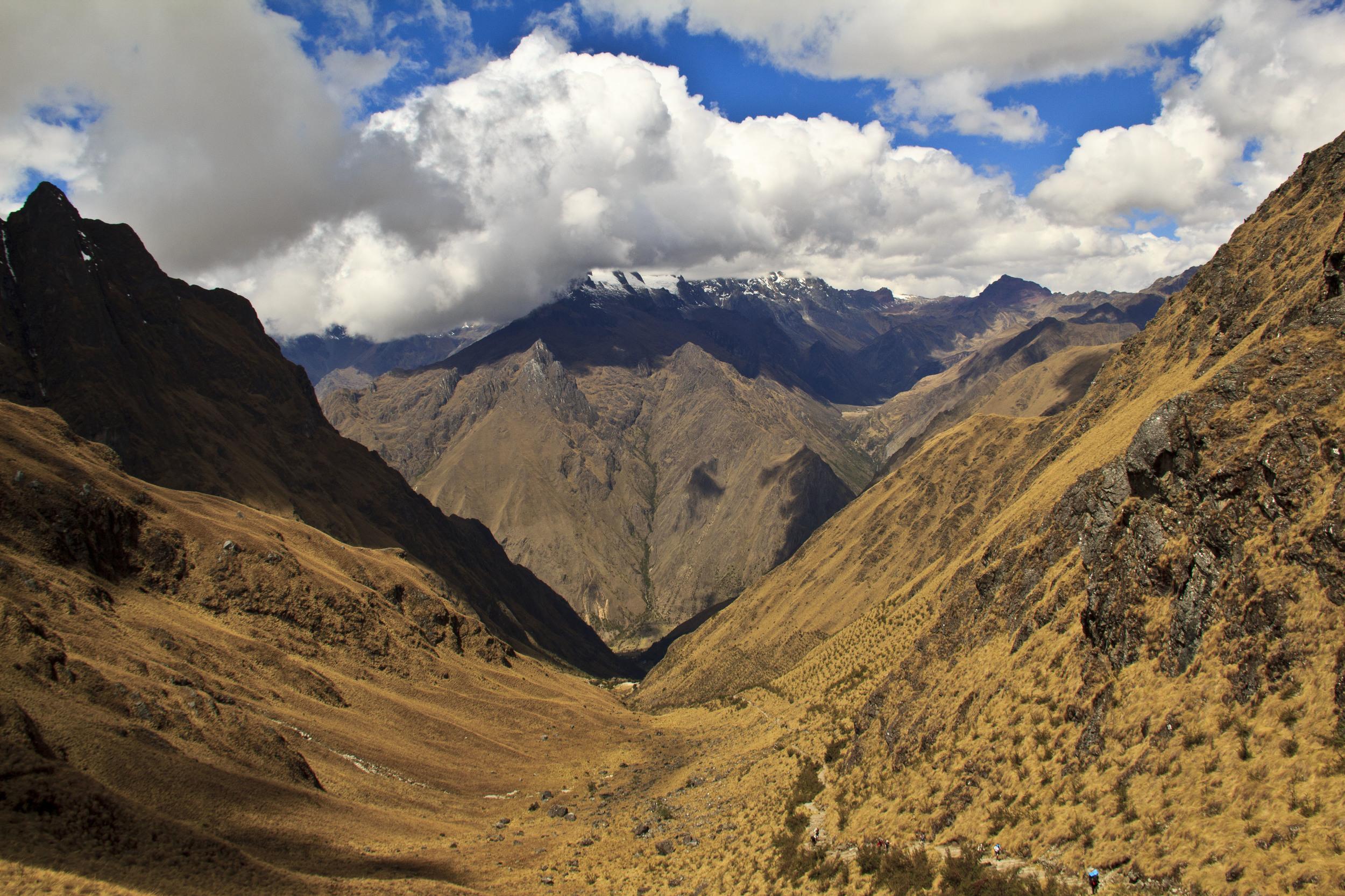 Summit of Inca Trail, 13,900 Feet