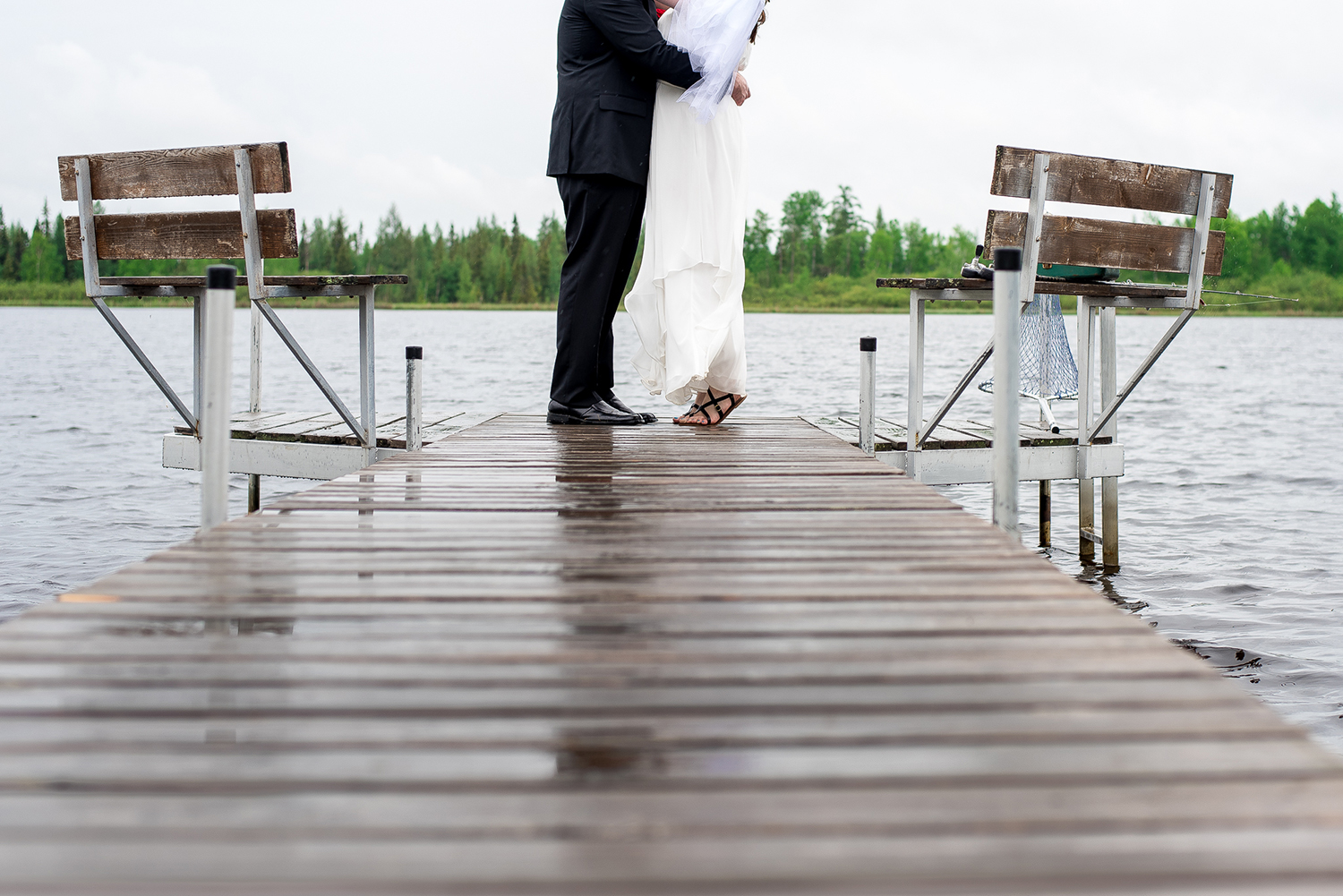 ceremony on a dock minnesota