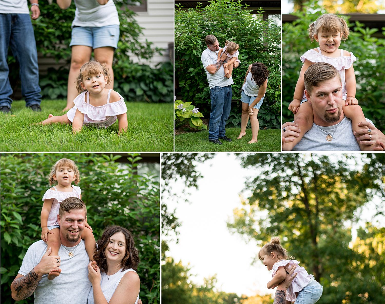 Alexandria, Minnesota backyard photographer