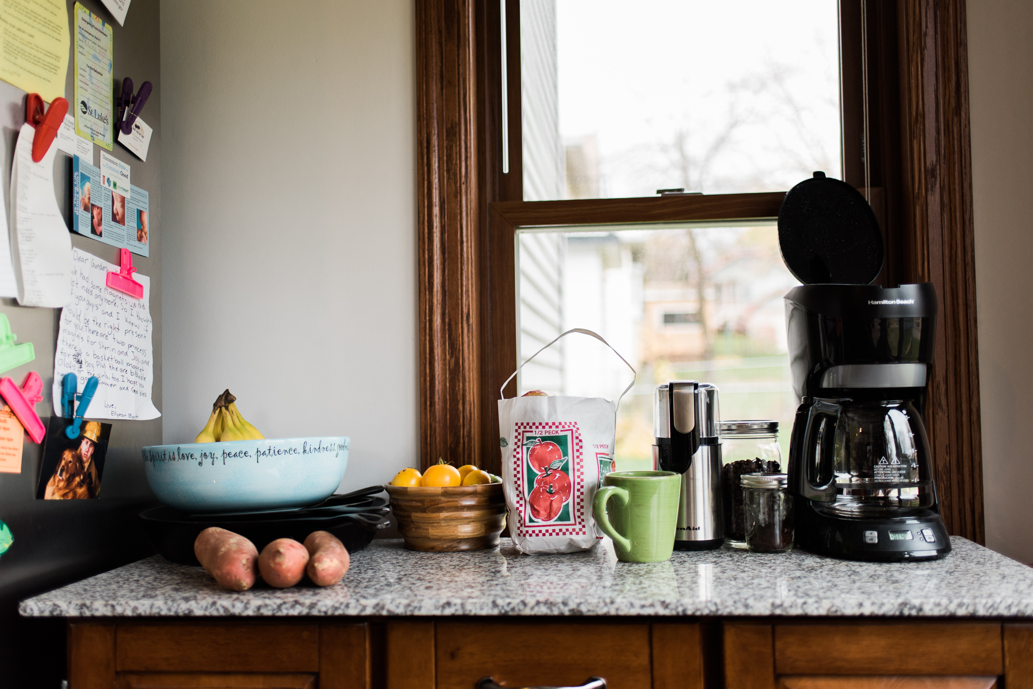 lifestyle photography in the kitchen