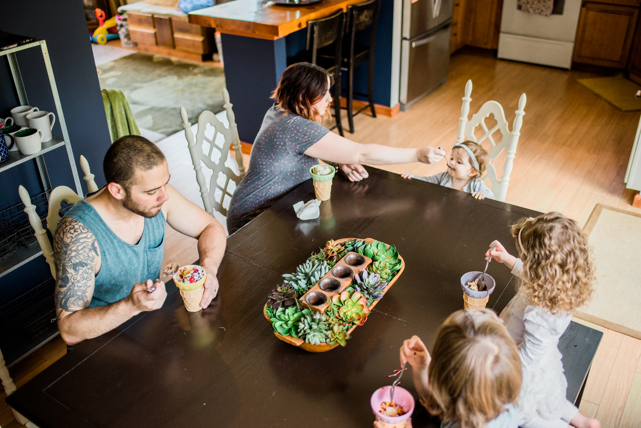 ice cream family lifestyle session