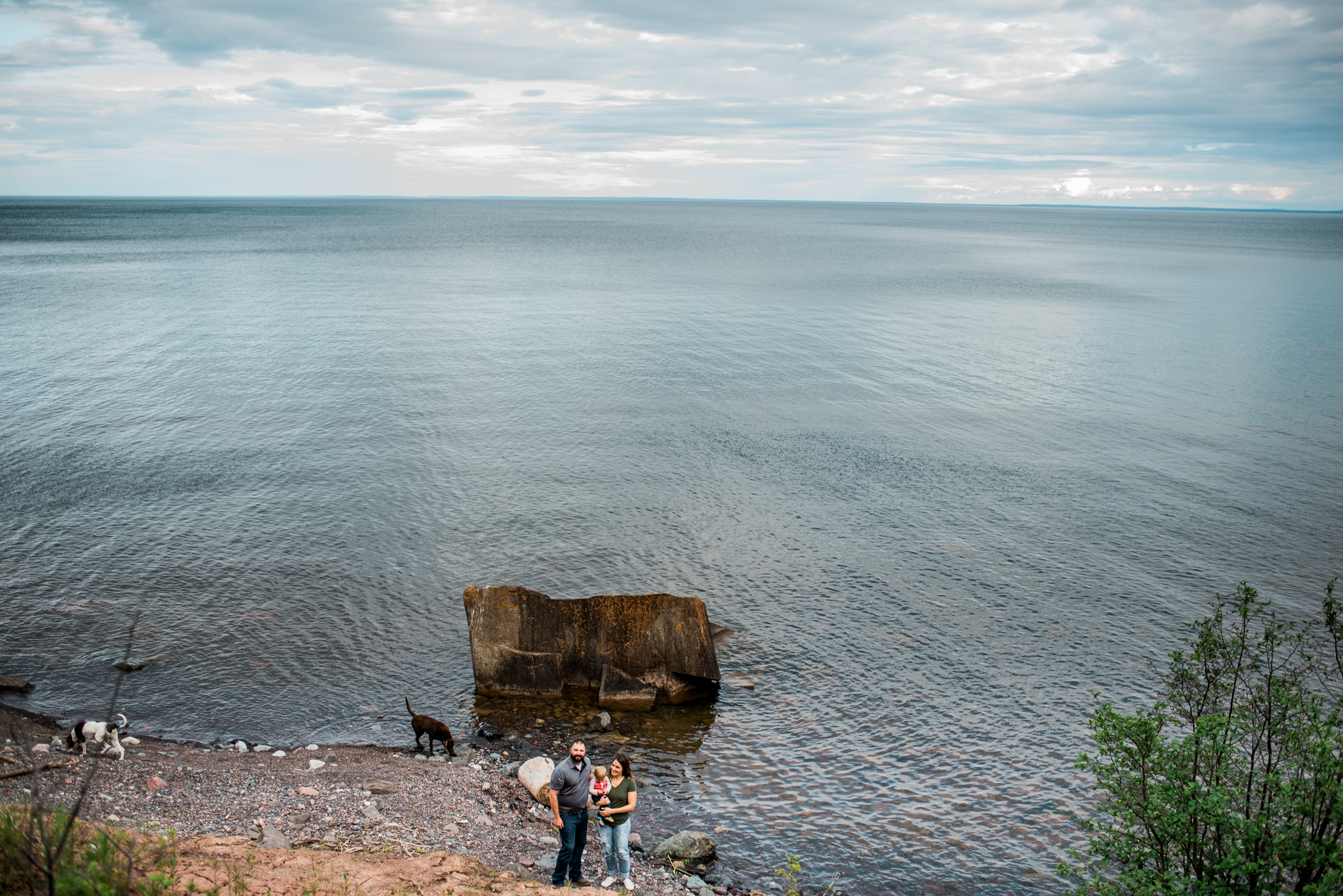 Photographer in Two Harbors