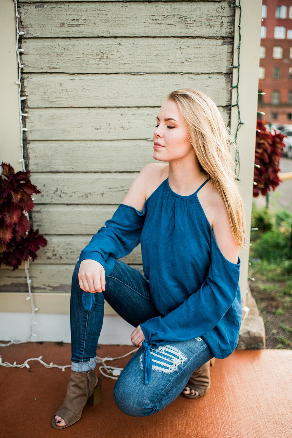 senior photography in Canal Park