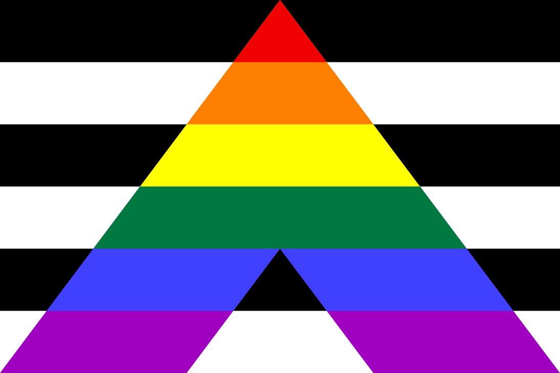 Straight Ally Pride Flag