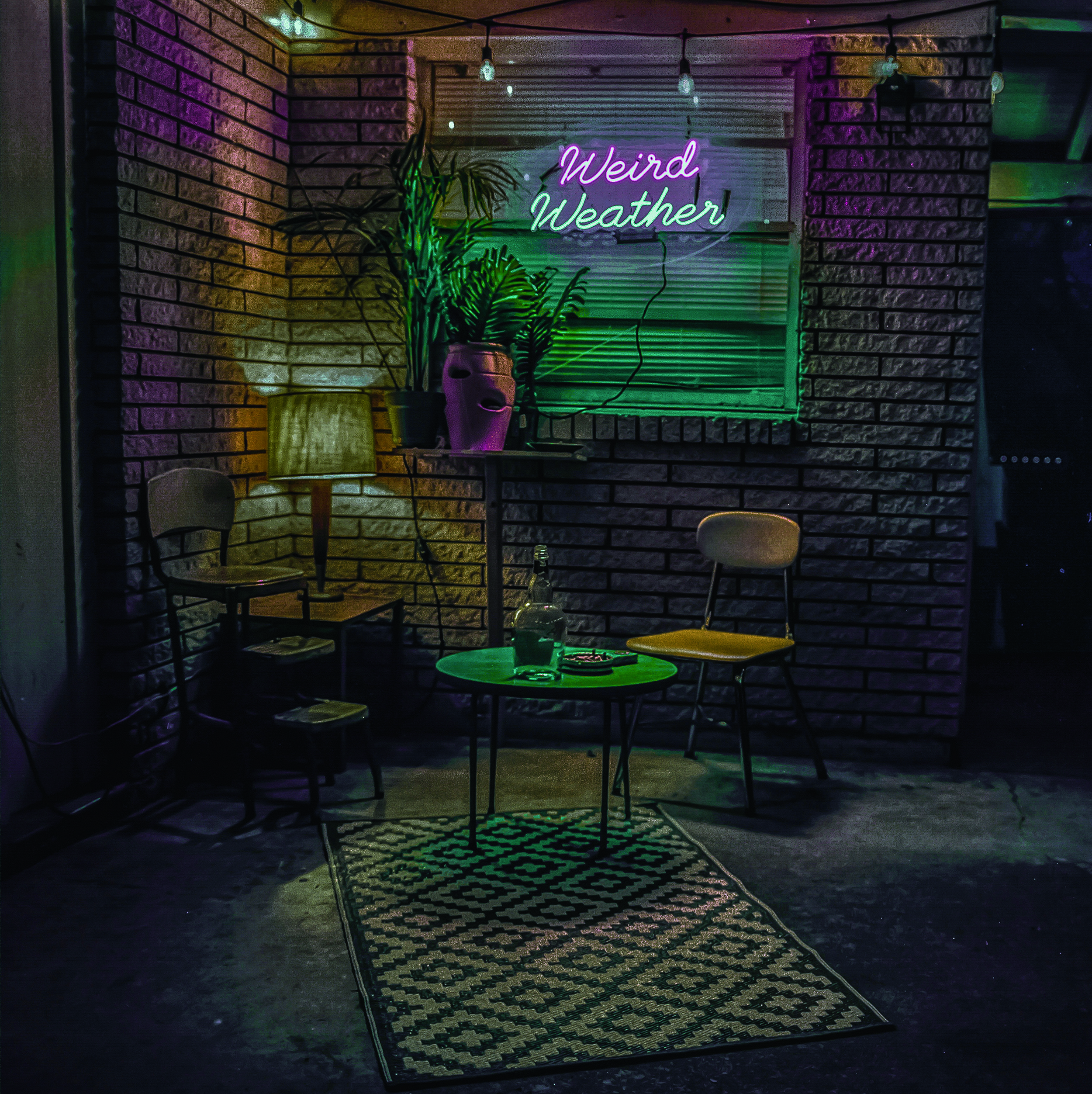 Shivery Shakes •Weird Weather - Shivery Shakes stand to set themselves apart with their own blend of fuzzy, surfy music, as sharp with pop hooks as it is smooth with reverb tinged melodies.Their new album 'Weird Weather' is a neon-laced night-drive of a record with electric melodies.