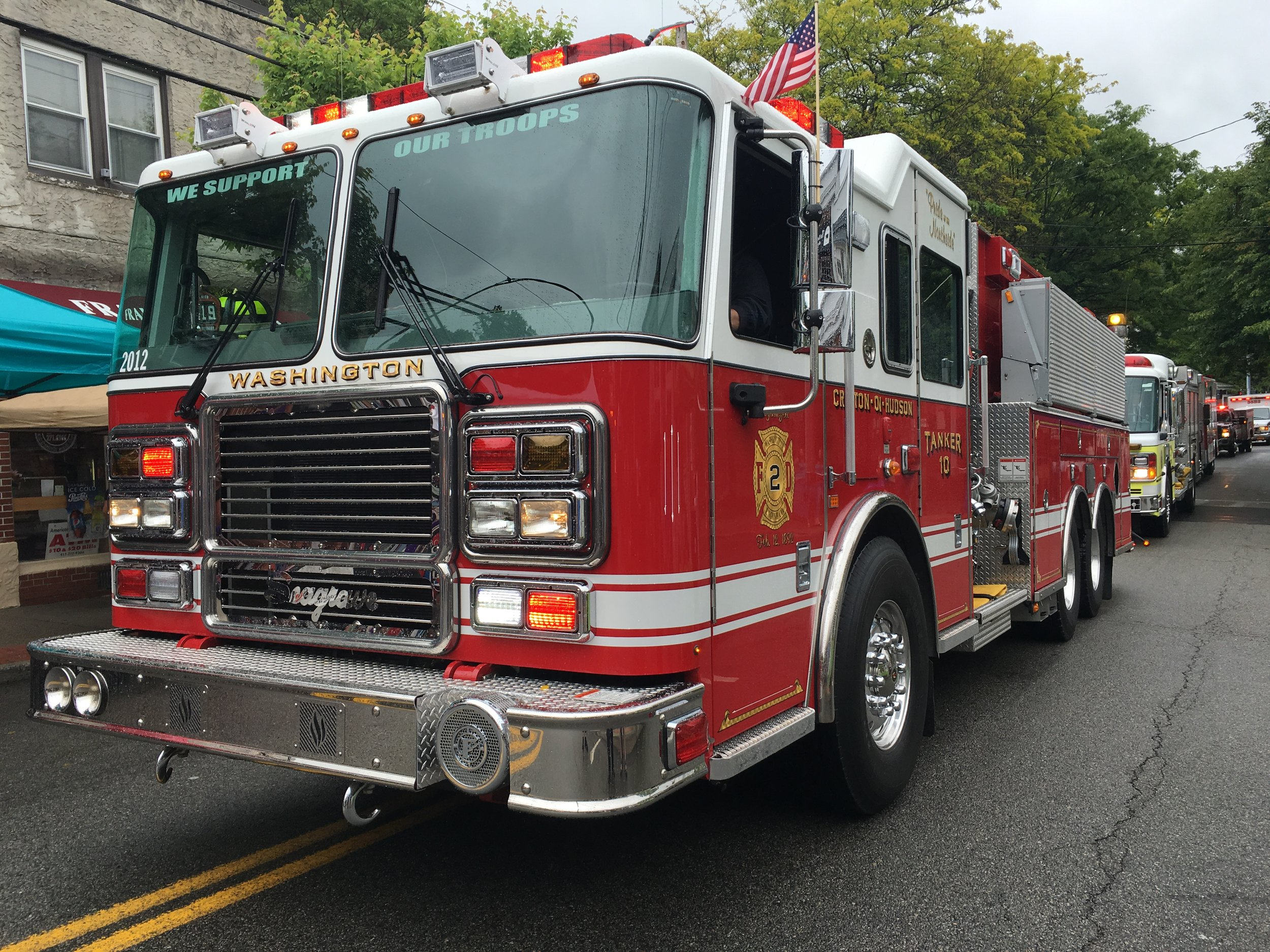 The Croton Fire Department has a fleet of seven rigs with an approximate value of $3-3.5 million dollars.