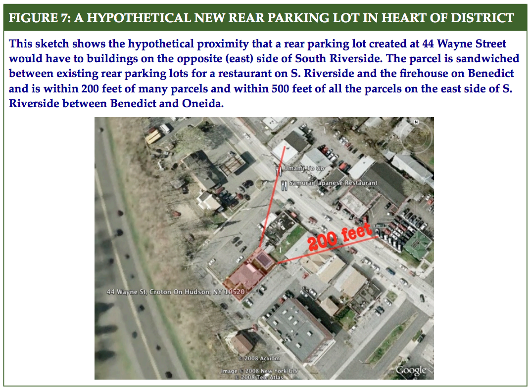 From the Harmon Zoning Change Recommendations, August 26, 2008.