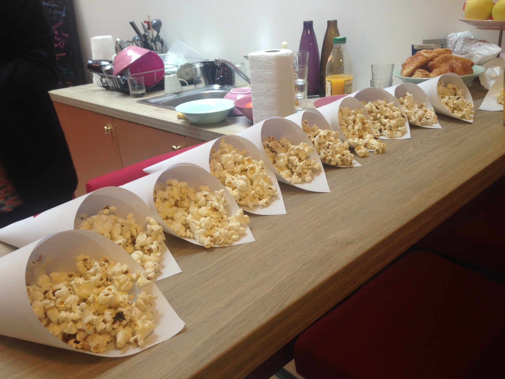 pop corn party au Remix Coworking 12FT Paris