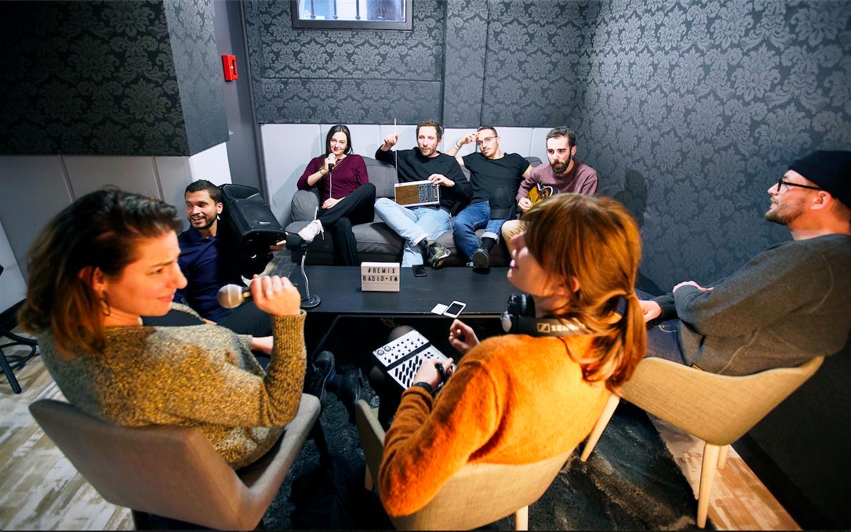 La communauté REMIX prend la parole sur les ondes remixradio.fm !