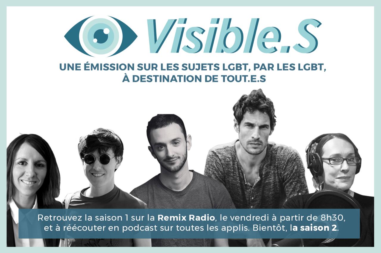 """Les 5 premiers invités de """"Visible.S"""", bientôt la saison 2 !"""