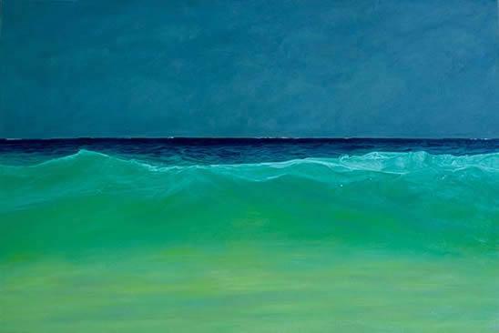 """Oceana, 42""""x 62"""", oil on canvas"""